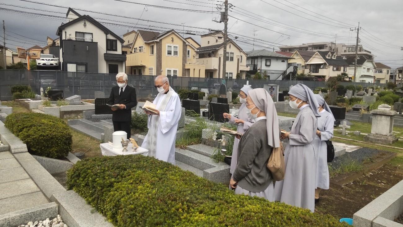 2021.9.27 ベタニアの家共同墓地 納骨式